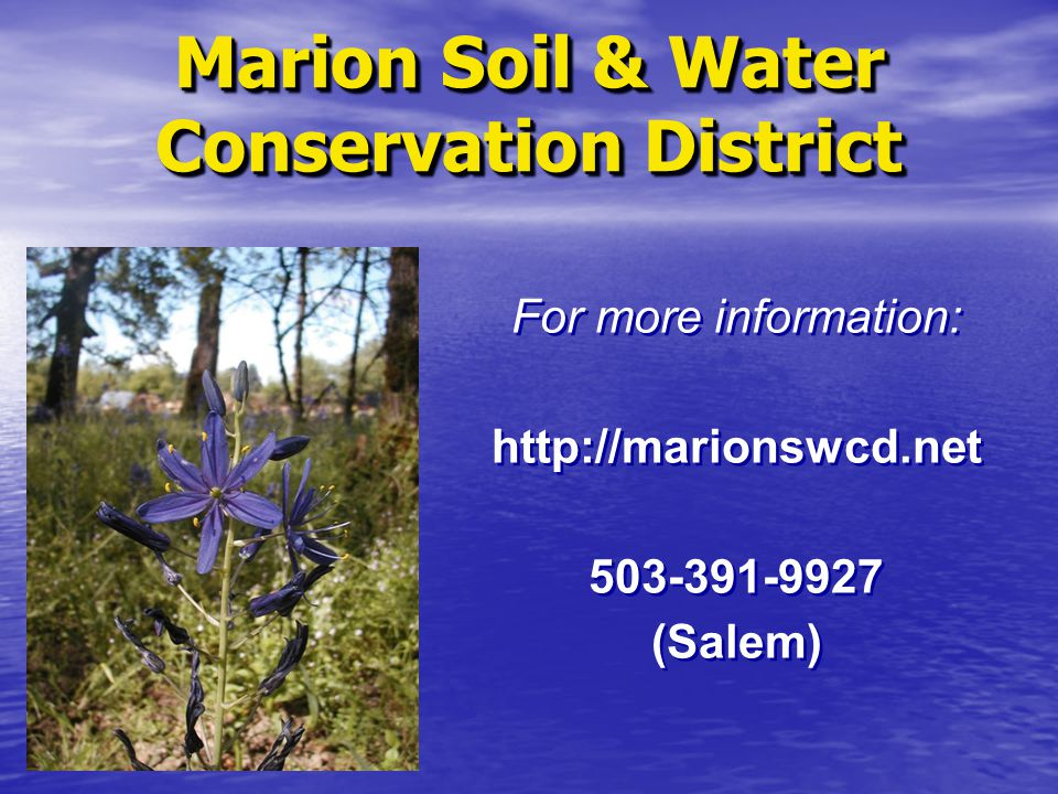 Marion Soil & Water Conservation District
