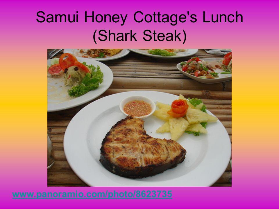 Samui Honey Cottage s Lunch (Shark Steak)