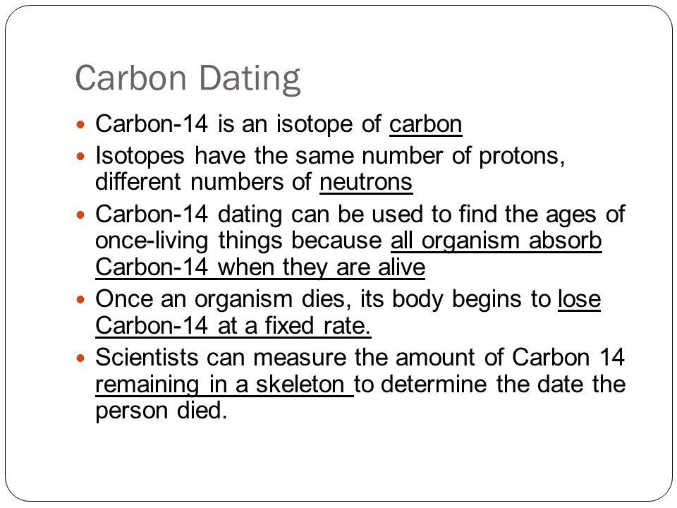 The isotope of carbon that is used for radioisotope hookup of previously living objects is