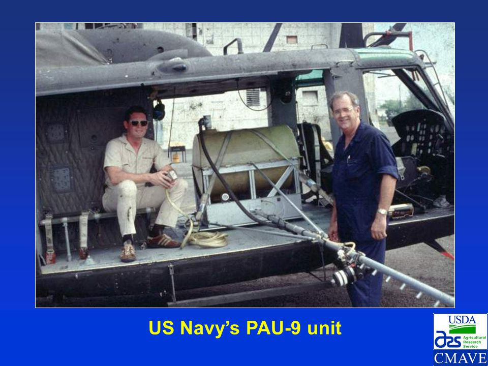 US Navy's PAU-9 unit