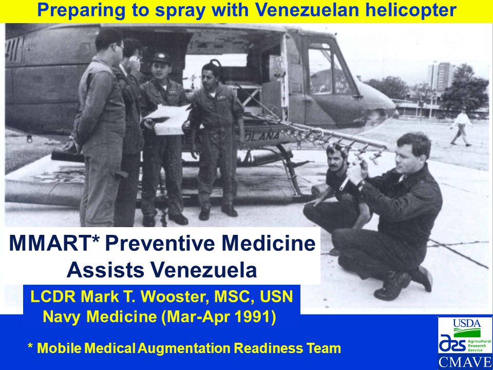 MMART* Preventive Medicine Assists Venezuela