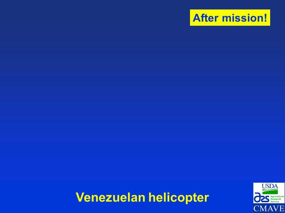 Venezuelan helicopter
