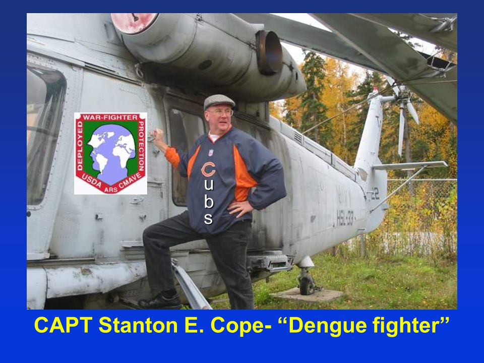 CAPT Stanton E. Cope- Dengue fighter