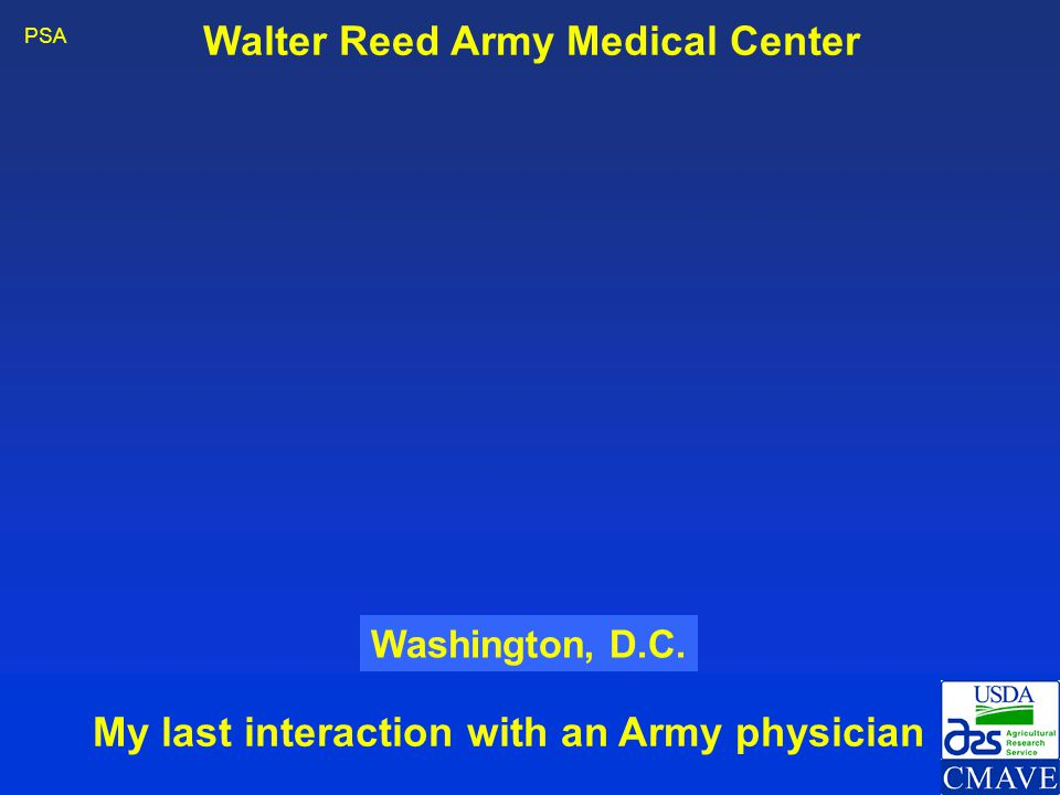 Walter Reed Army Medical Center