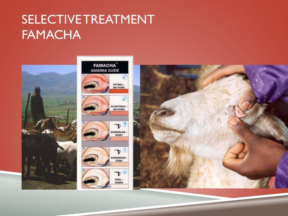 Selective Treatment FAMACHA