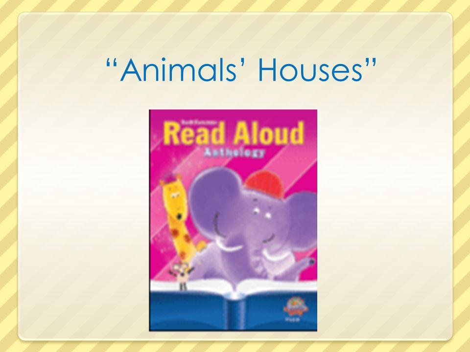 Animals' Houses