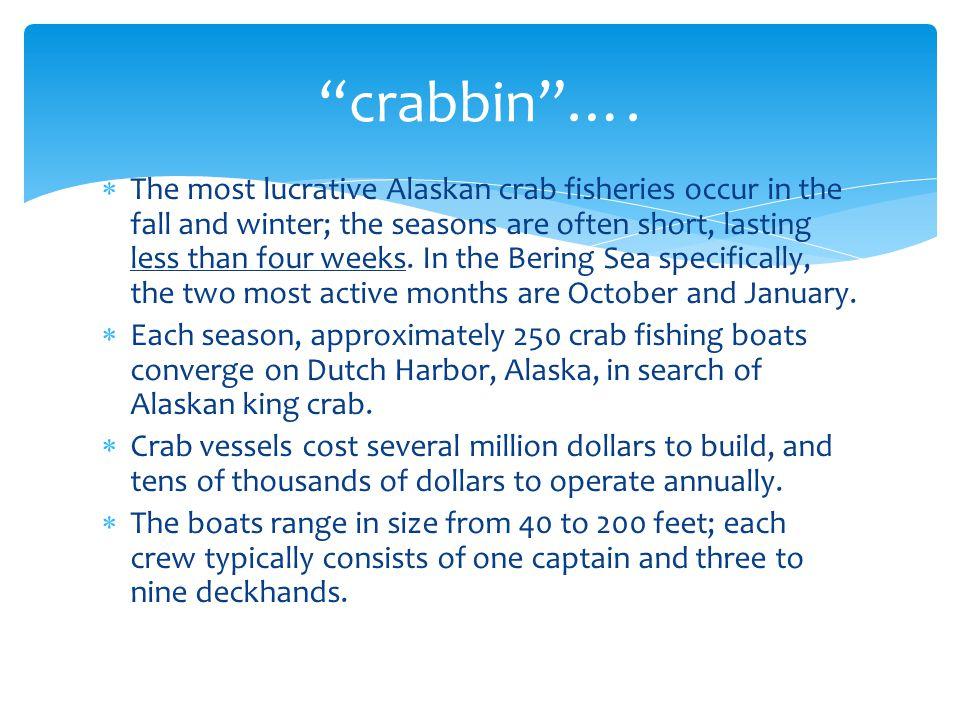 crabbin ….