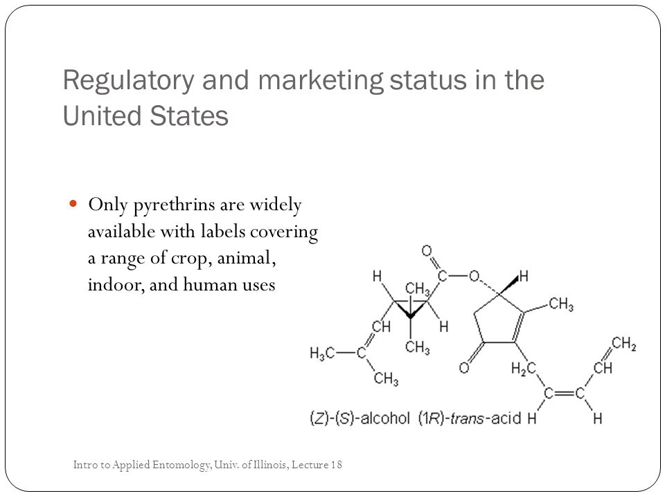 Regulatory and marketing status in the United States