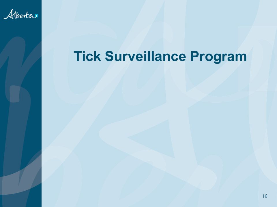 Tick Surveillance Program