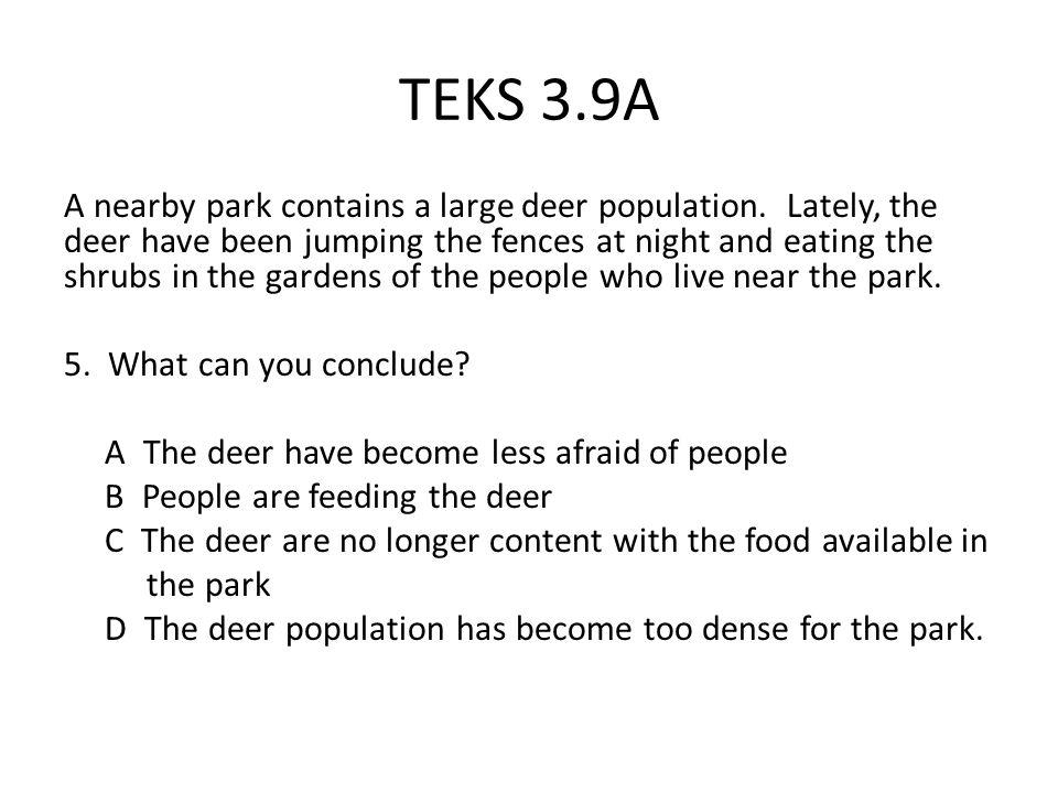 TEKS 3.9A