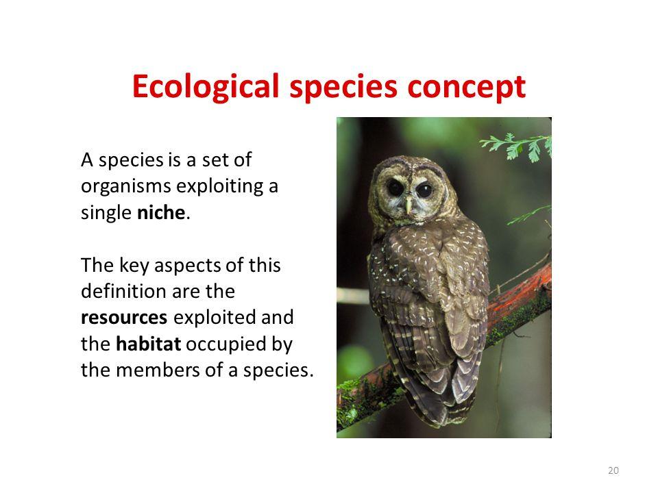 Ecological species concept