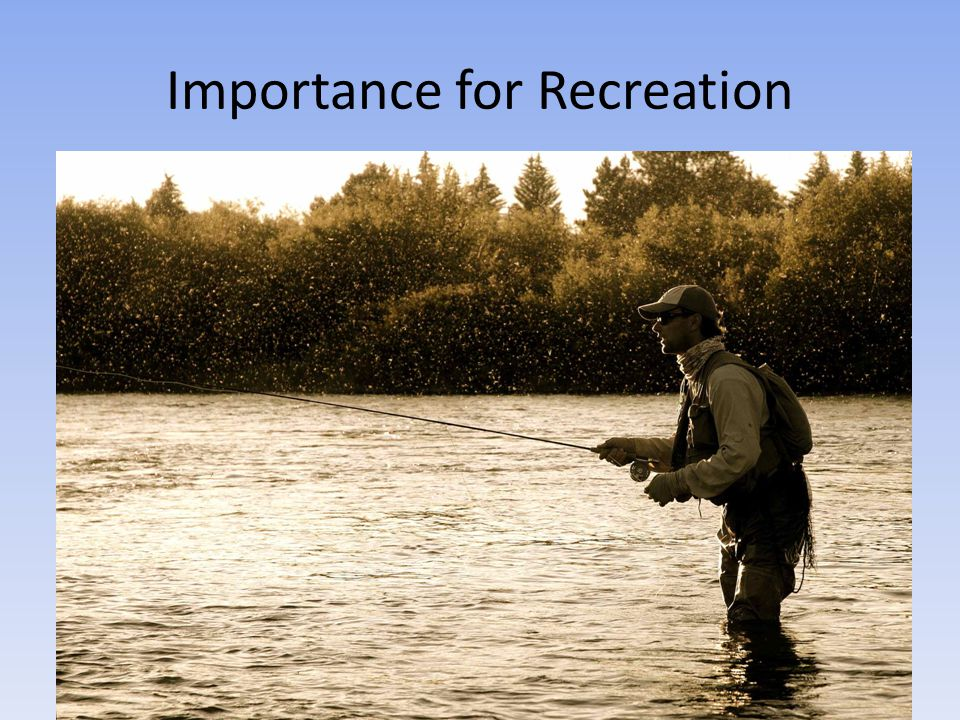 Importance for Recreation