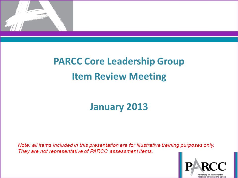 PARCC Core Leadership Group