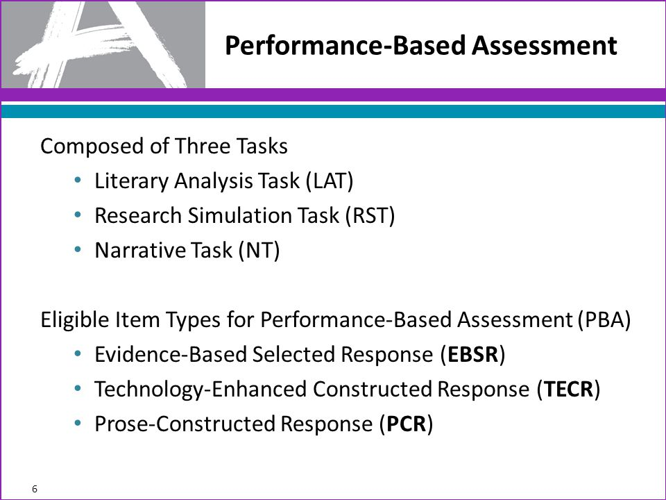 Performance-Based Assessment