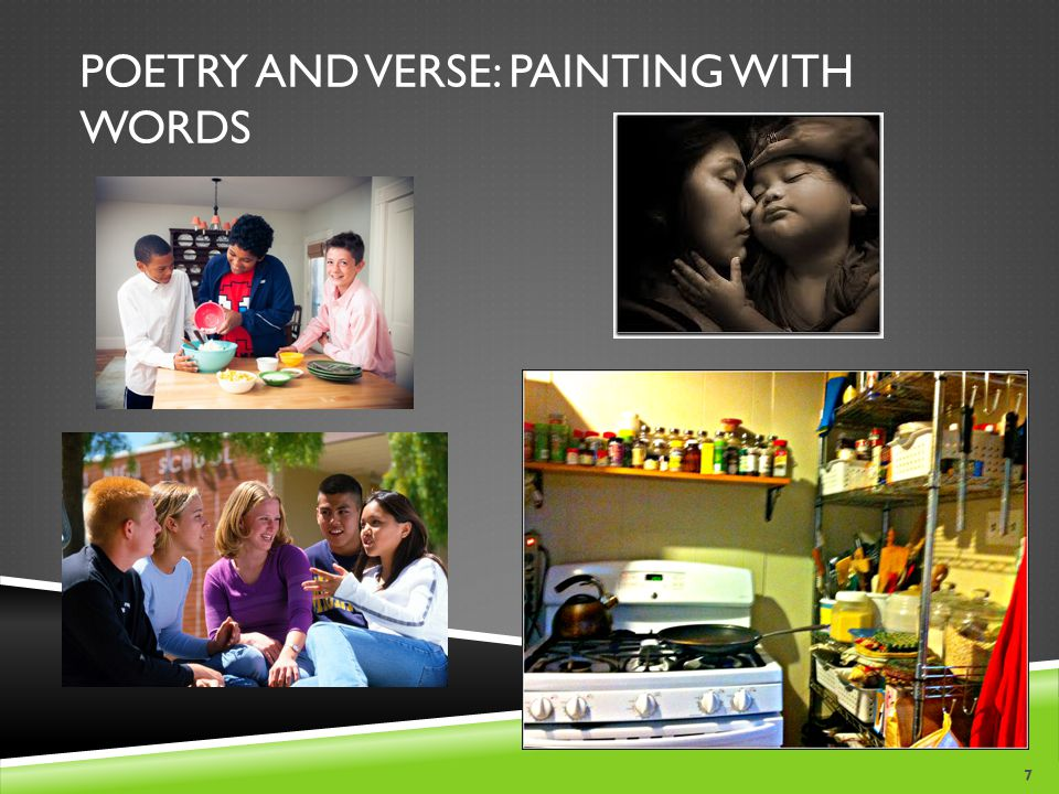Poetry and Verse: Painting with Words