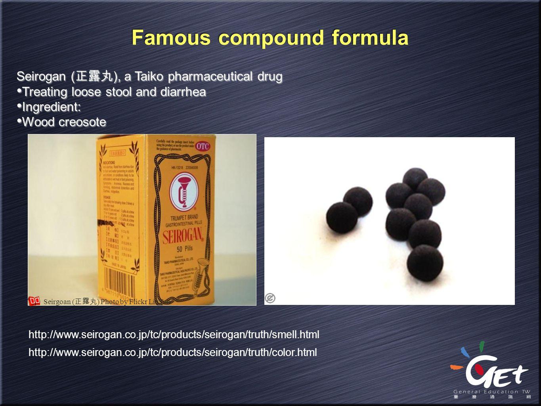 Famous compound formula
