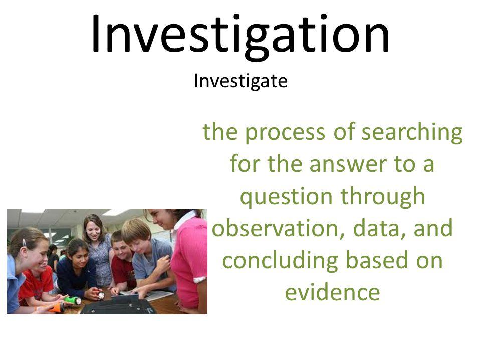 Investigation Investigate