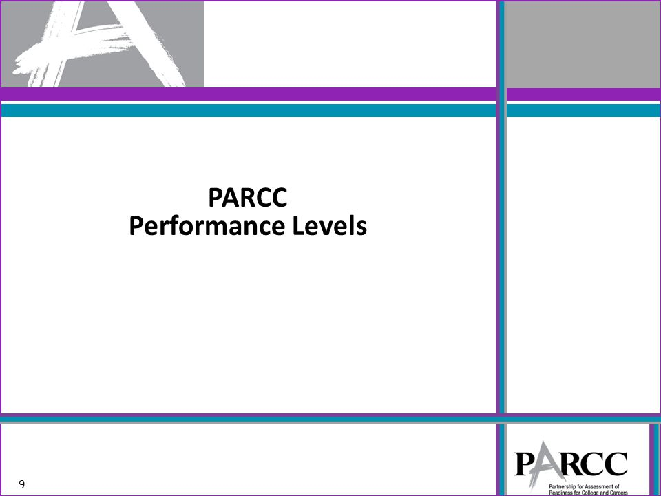 PARCC Performance Levels