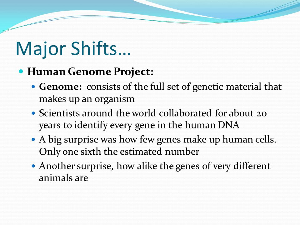Applications and Issues of the Human Genome Project
