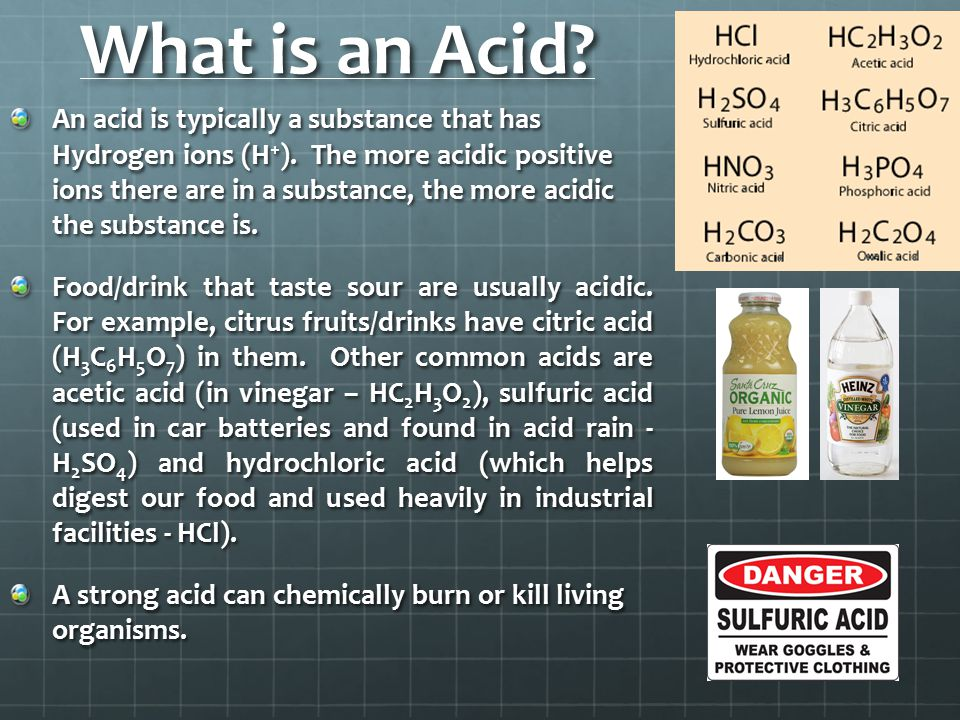 What is an Acid