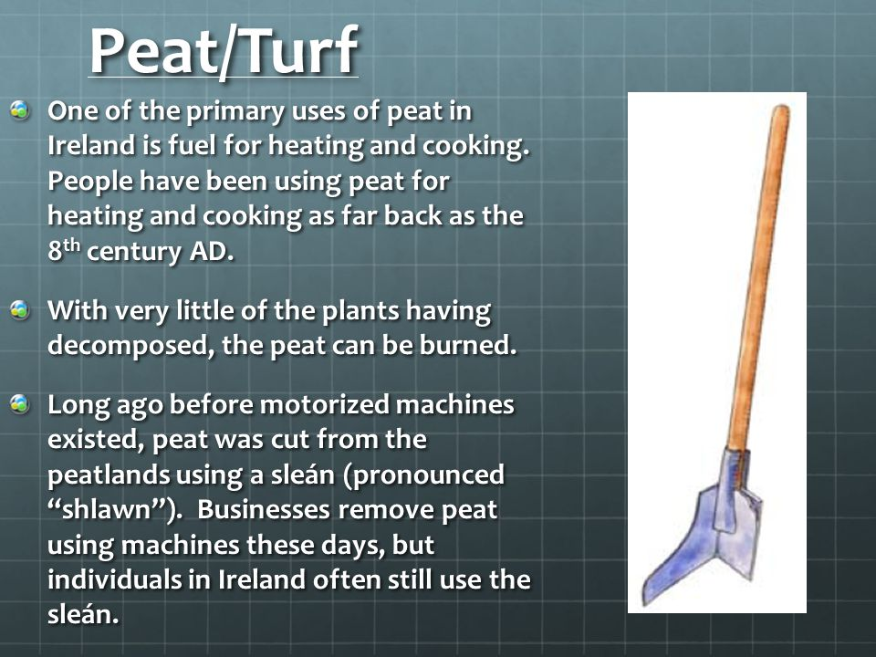 Peat/Turf