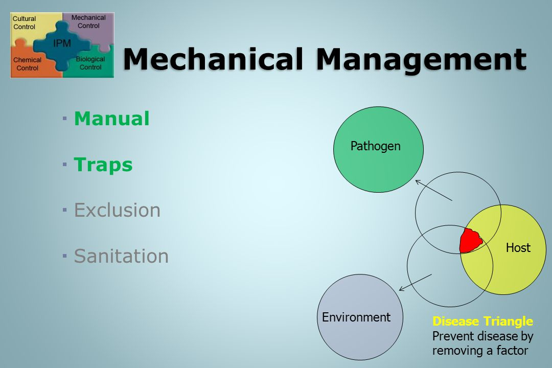 IPM: Mechanical Management