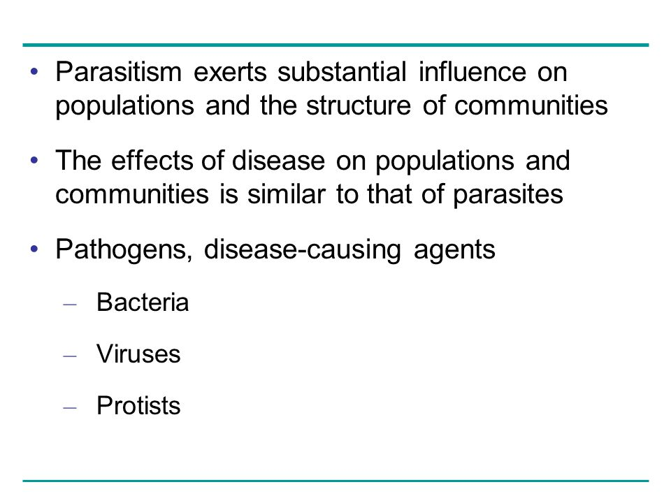 Pathogens, disease-causing agents