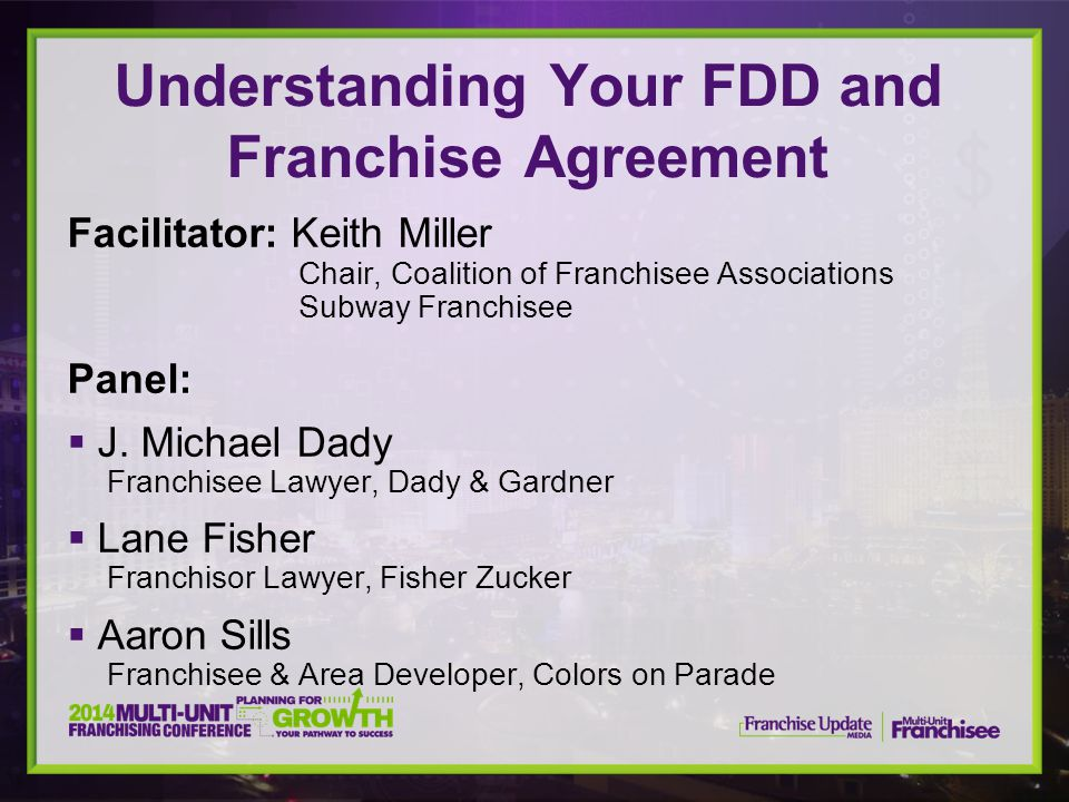 Understanding Your FDD and Franchise Agreement