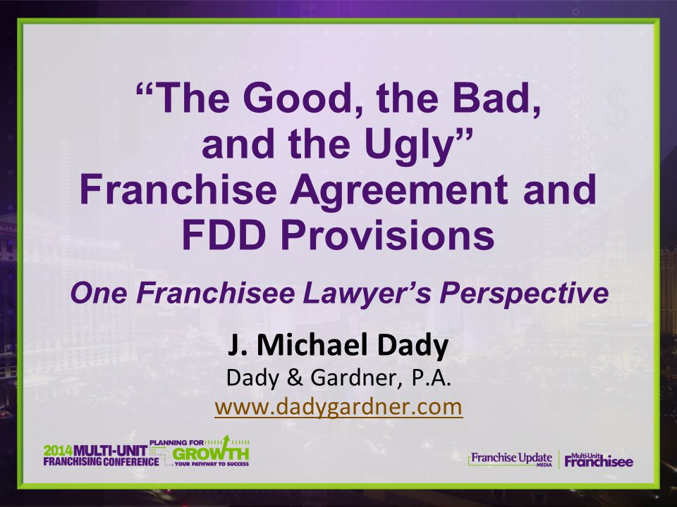 J. Michael Dady Dady & Gardner, P.A. www.dadygardner.com