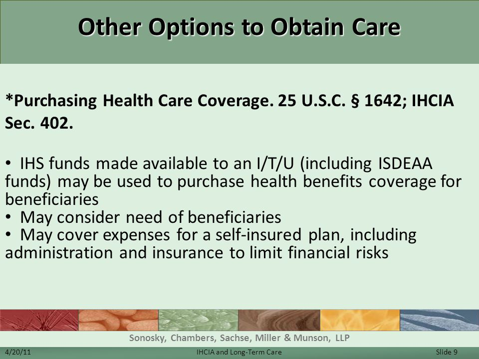 Other Options to Obtain Care