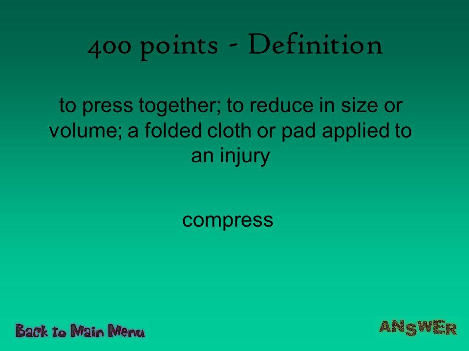 400 points - Definition compress