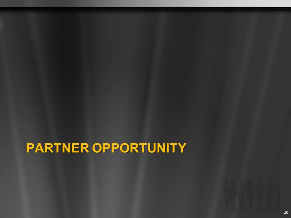 Partner opportunity
