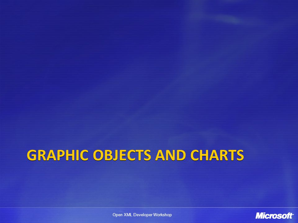 Graphic OBJECTs and Charts