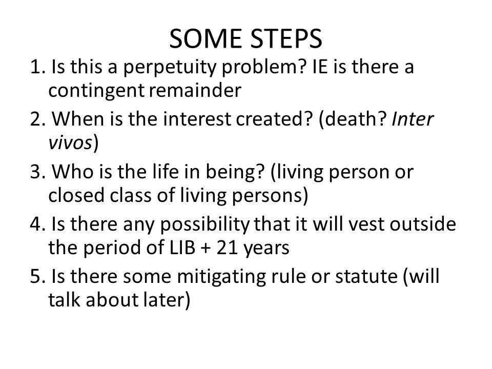 SOME STEPS