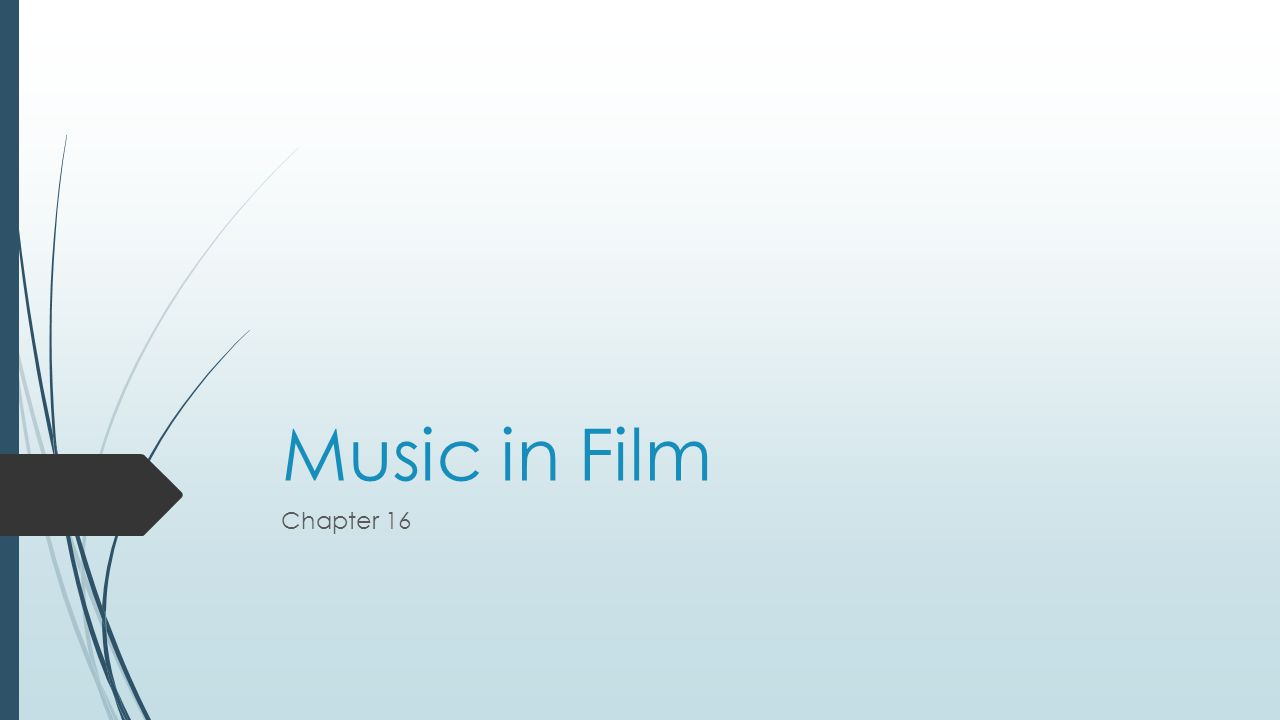 Music in Film Chapter 16