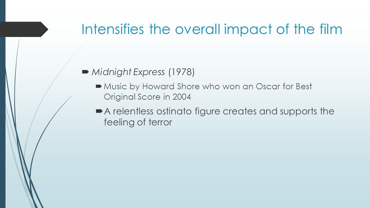Intensifies the overall impact of the film