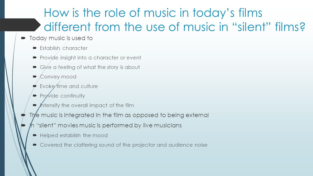 The role and influence of music on the society today