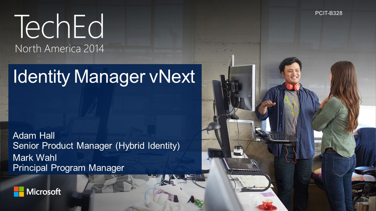 Identity Manager vNext