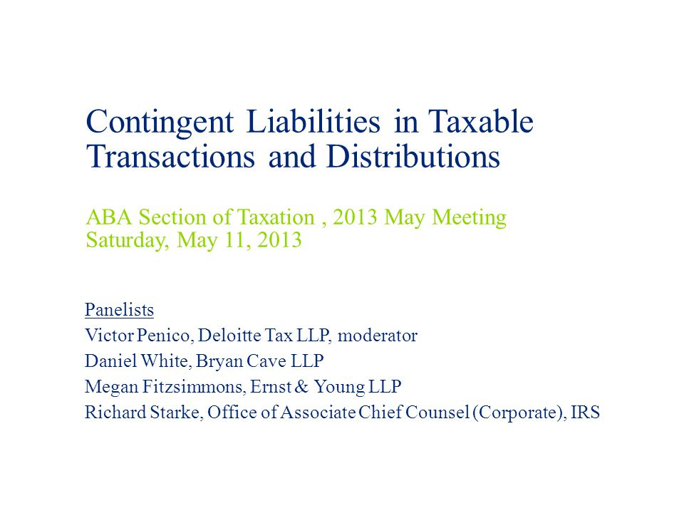 Contents Introduction Definition of Contingent Liabilities 3