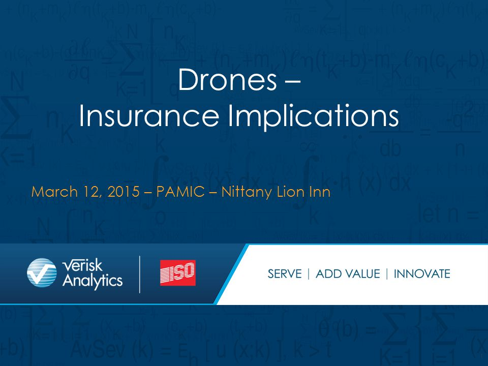 Drones – Insurance Implications