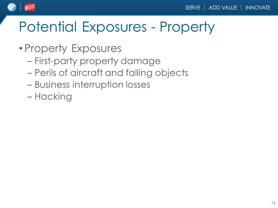 Potential Exposures - Property