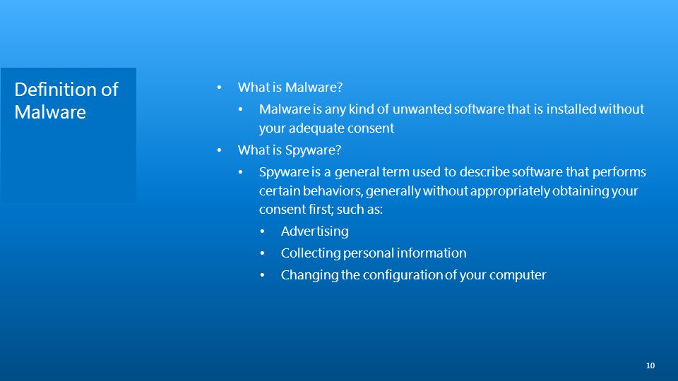 Definition of Malware What is Malware