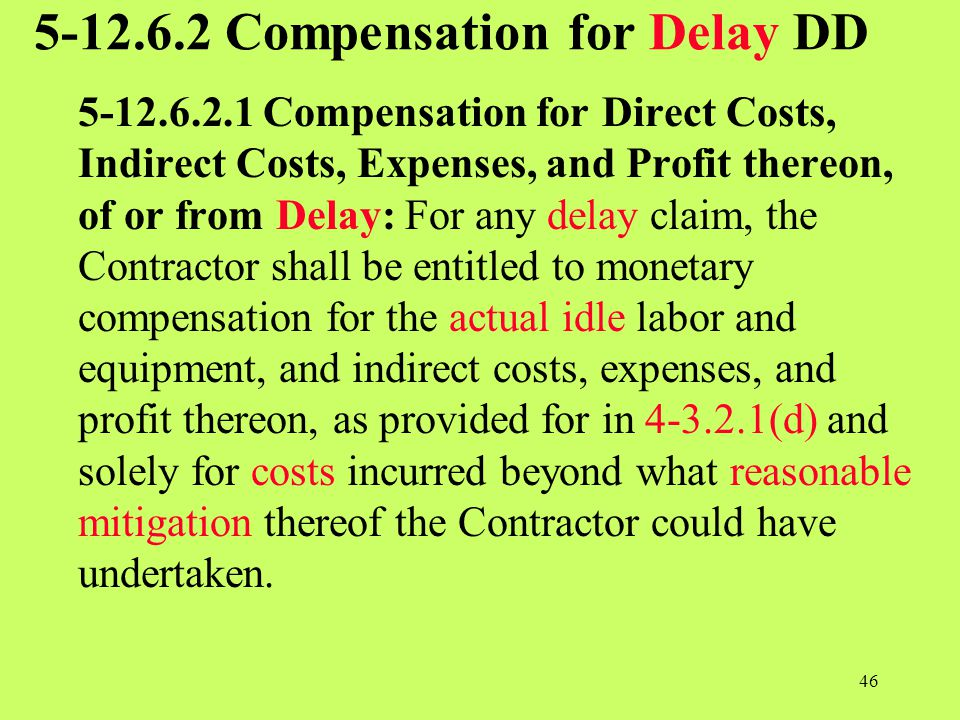 5-12.6.2 Compensation for Delay DD