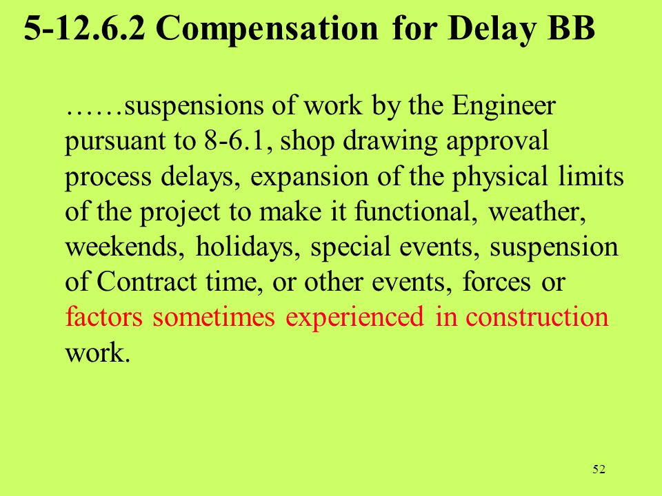 5-12.6.2 Compensation for Delay BB