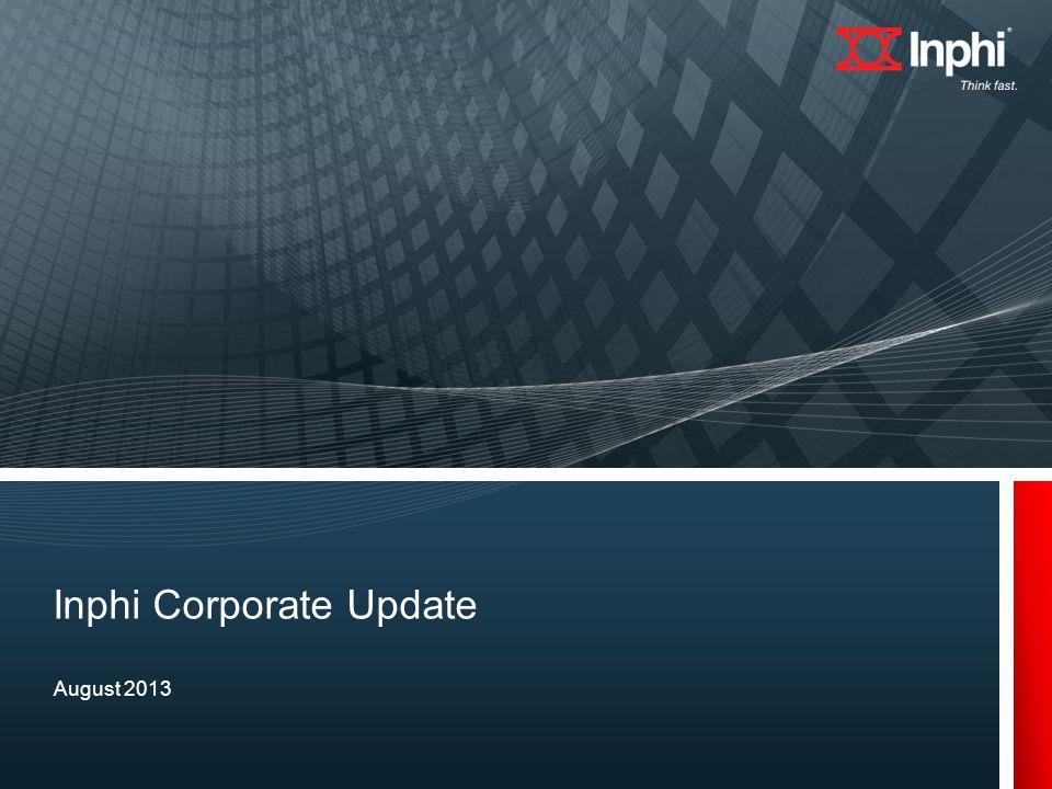 Inphi Corporate Update