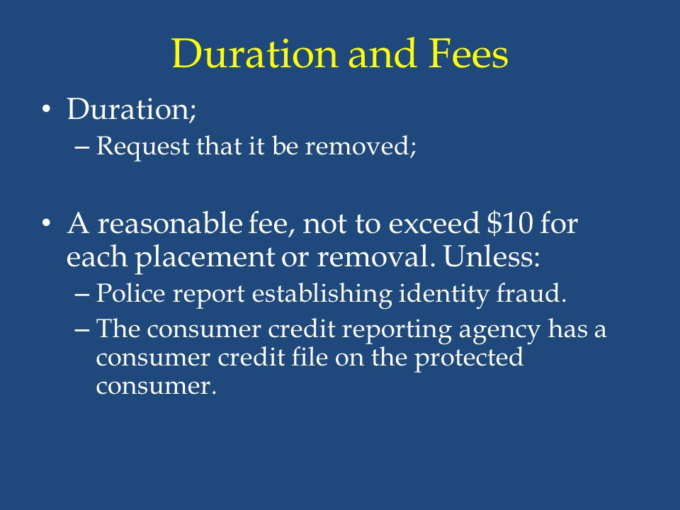 Duration and Fees Duration;
