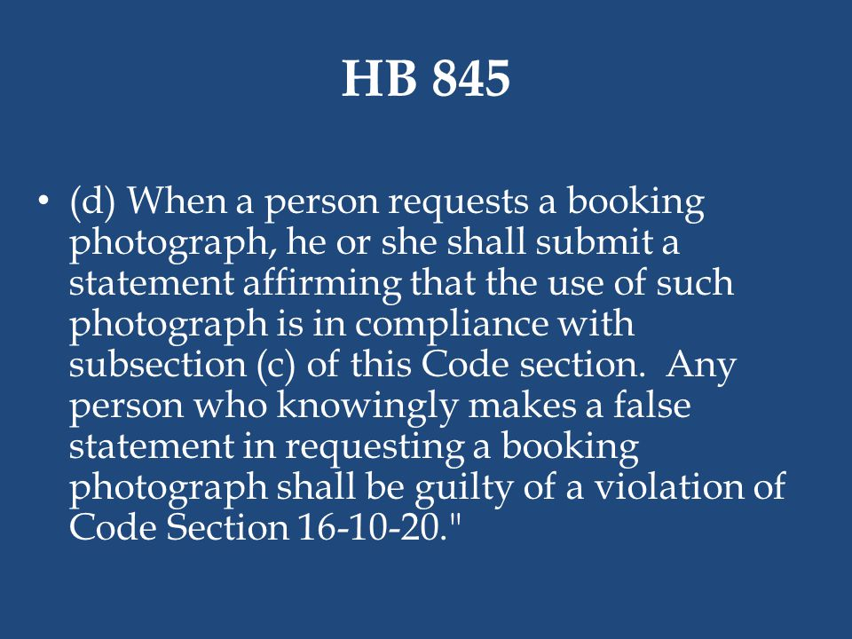 HB 845