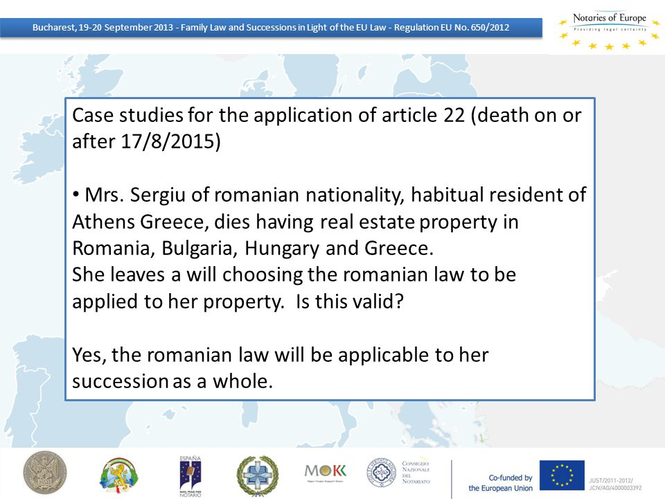 Yes, the romanian law will be applicable to her succession as a whole.