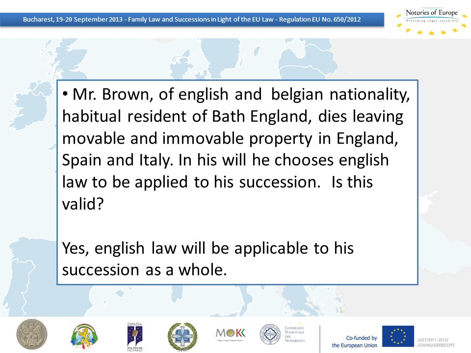 Yes, english law will be applicable to his succession as a whole.