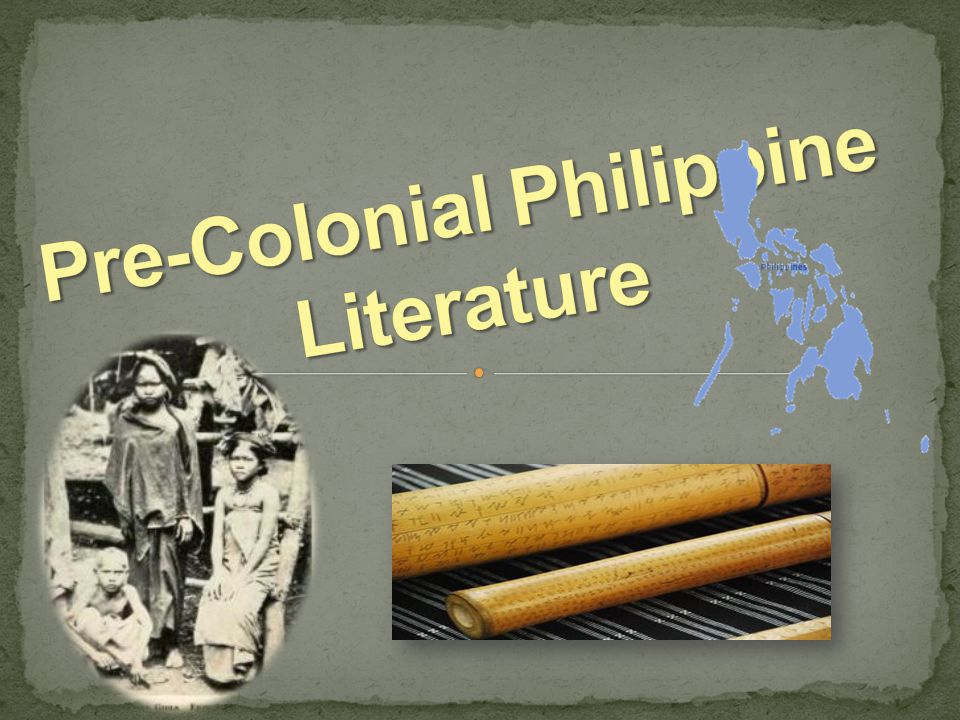 the philippine literature Philippine literature in spanish philippine literature in spanish can be broadly categorized into three stages or phases the first phase was the time period when religious works as instructed by the colonial masters were spread throughout the land.